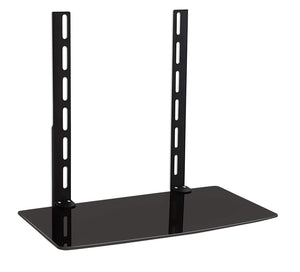 Column TV Mount Shelf for Cable Box, DVD Player, Stereo Components