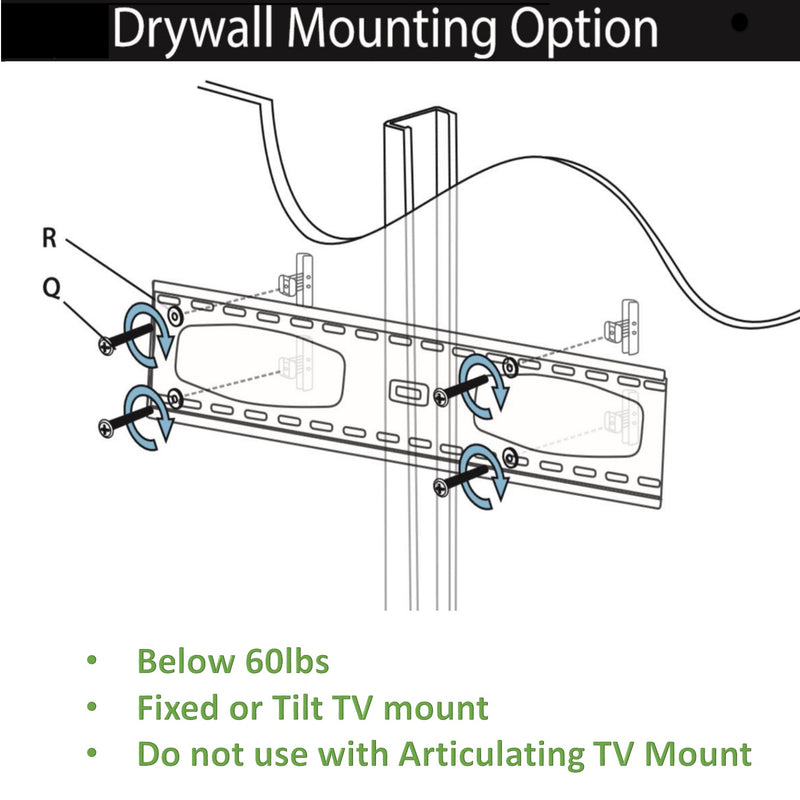 "Drywall Anchors for No Stud, Metal/Steel Stud, Drywall, Gypsum, Heavy Duty 80lbs Drywall Anchors Used for TV mounting, grab bar mounting, furniture, cabinet mounting, shelve mounting, baby gates, Includes 1/2"" Drill Bit"
