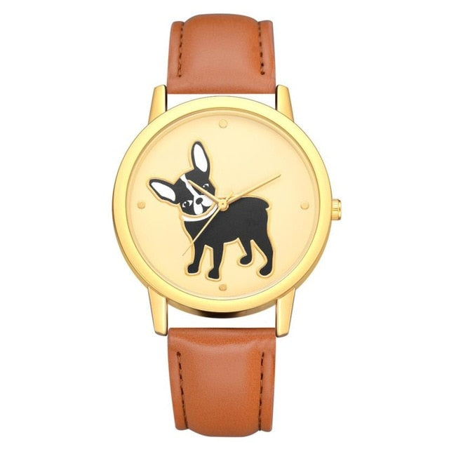 Luxury Leather - Terrier Watch