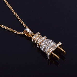 Iced Out Plug Chain