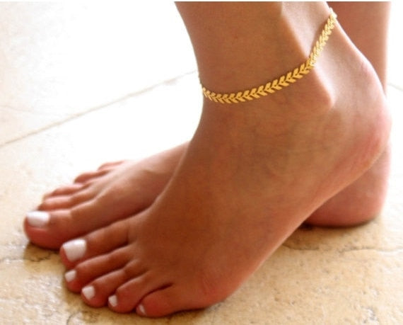 Sexy Gold Silver Anklet