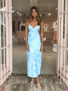 Third Form Tie Dye Tri Midi Dress