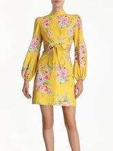 Load image into Gallery viewer, Zimmermann Zinnia Bow Cut Out Dress