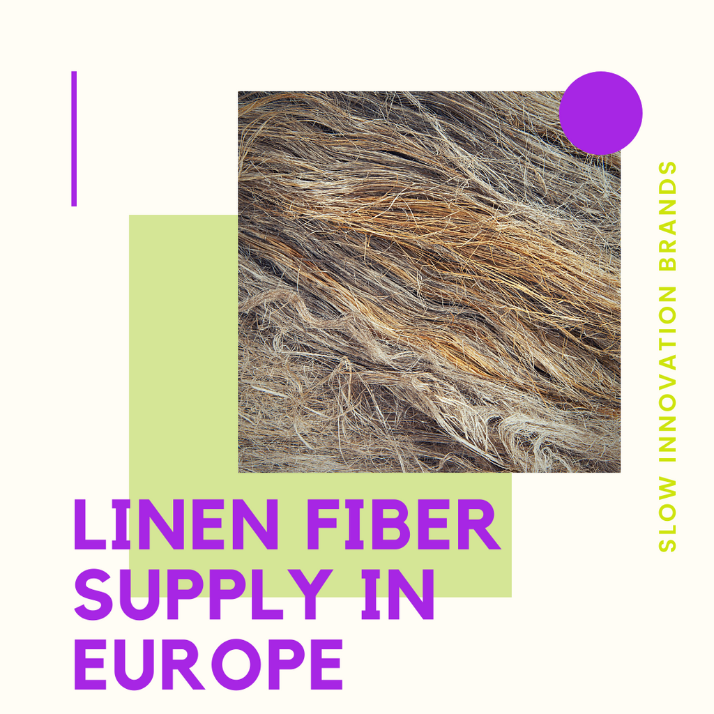 Linen fiber supply in Europe