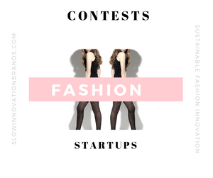 Fashion design contests and startup competitions