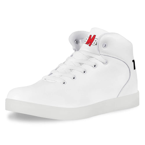 LED High Top Canvas Shoes