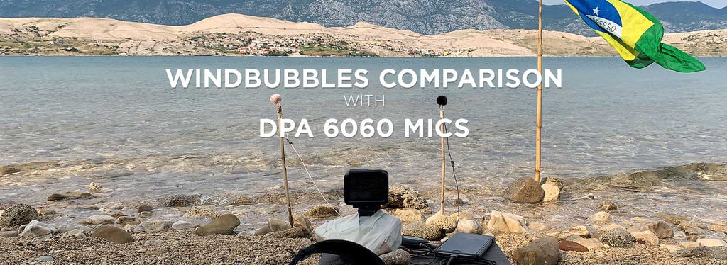 Comparing Windbubbles - Recording Waves with DPA 6060 Microphones