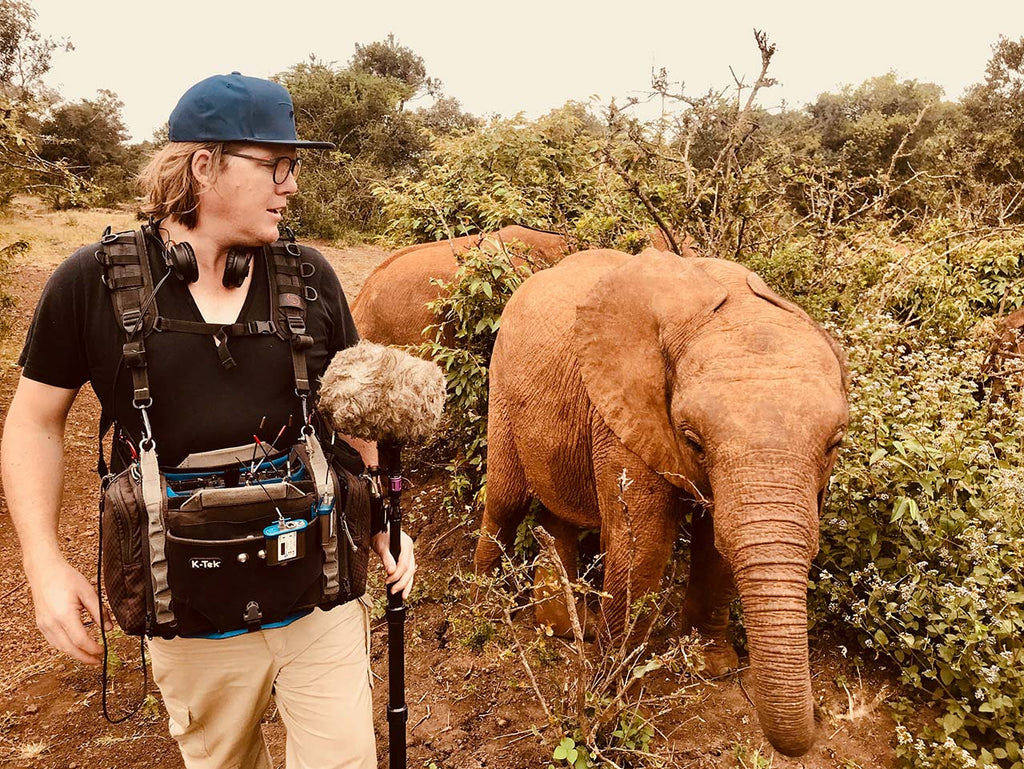 Henau Marais: Sound in Remote Locations, Travelling Heavy and Staying Focused