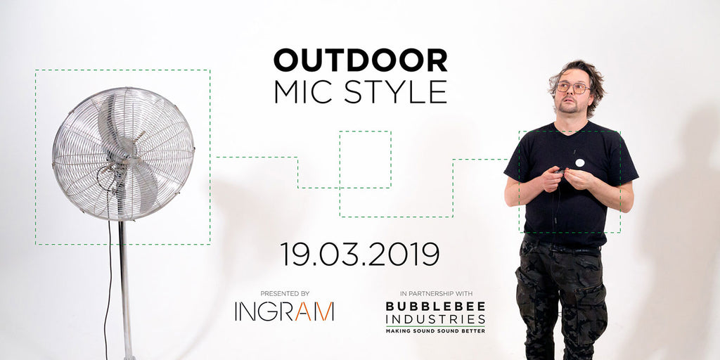 Outdoor Mic Style at Ingram AV, Newcastle, 19.03.2019
