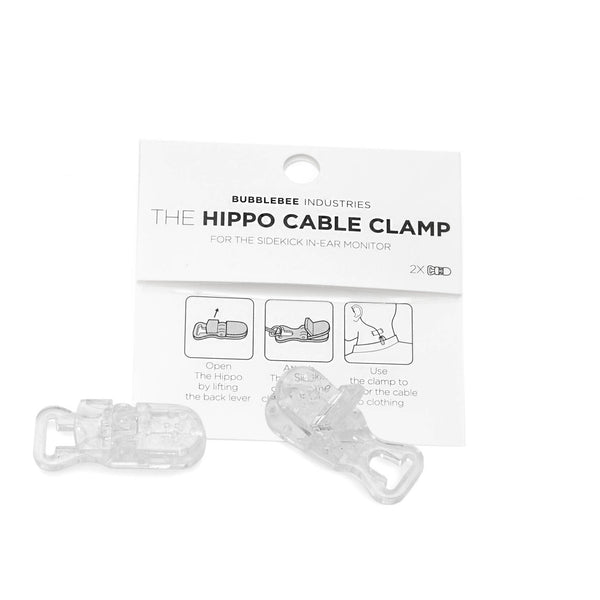 The Sidekick Hippo Cable Clamp, 2-Pack