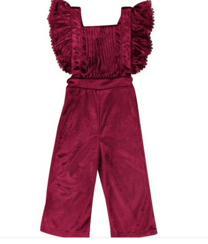 Velvet Girl Backless Jumpsuit