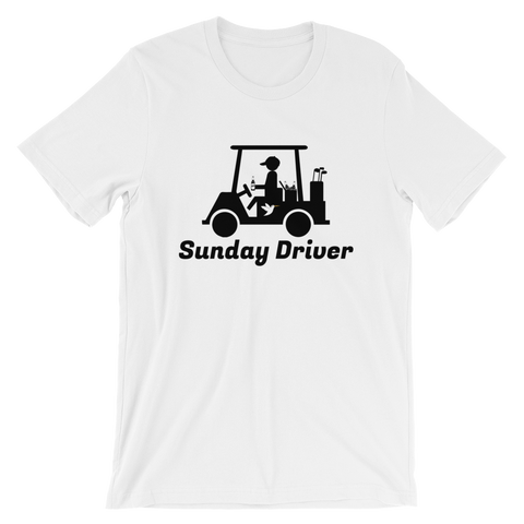 Sunday Driver T-Shirt White