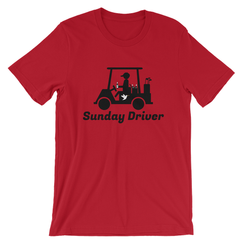 Sunday Driver T-Shirt Red