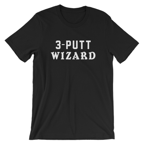Image of Birdie Threads 3-Putt Wizard Black
