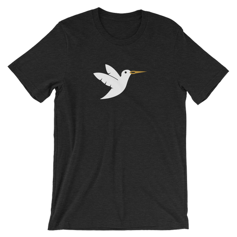 Image of Birdie Threads T-Shirt - White Bird