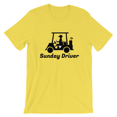 Sunday Driver T-Shirt Yellow