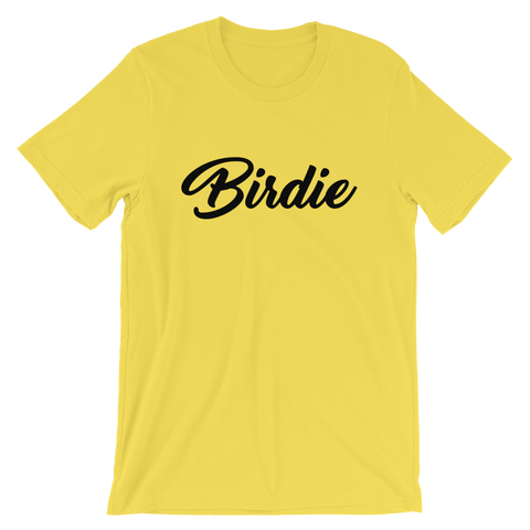 Image of Birdie T-Shirt Yellow
