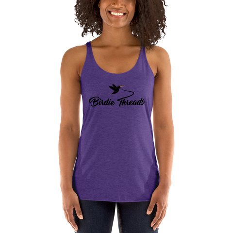 Women's Birdie Threads Purple Tank Top