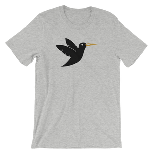 Birdie Threads T-Shirt Black Bird