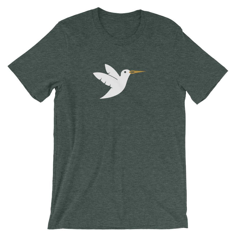 Birdie Threads T-Shirt White Bird
