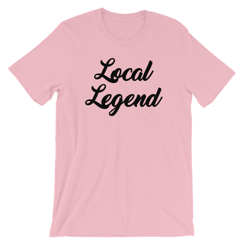 Image of Local Legend Pink T-Shirt