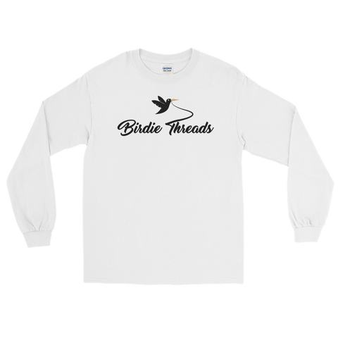 BirdieThreads White Long Sleeve Shirt