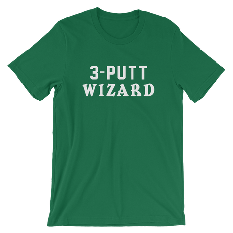 Birdie Threads 3-Putt Wizard Green