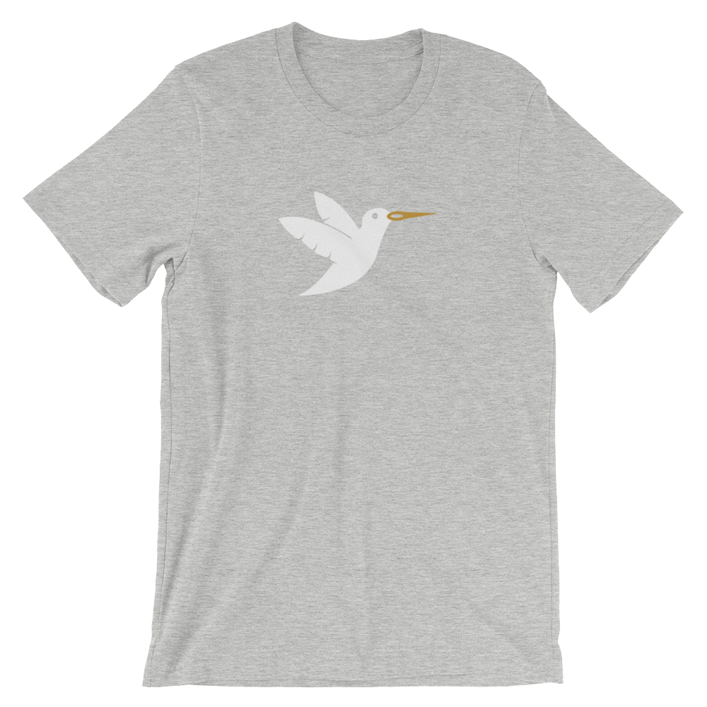 Birdie Threads T-Shirt - White Bird