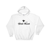 Birdie Threads Hoodie. Color is White