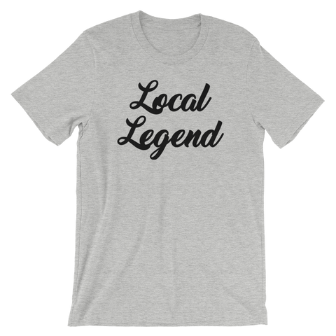 Image of Local Legend Grey T-Shirt