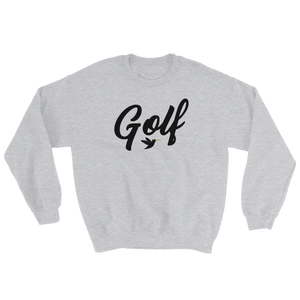 Golf Sweatshirt in grey from Birdie Threads