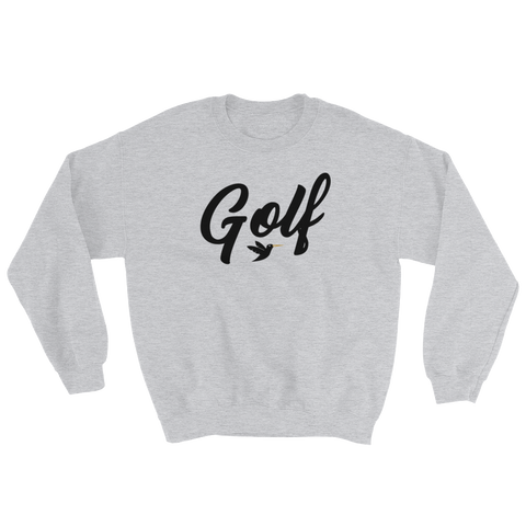 Image of Golf Sweatshirt in grey from Birdie Threads