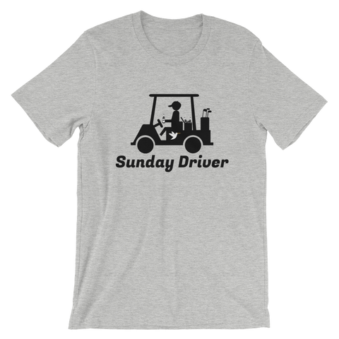 Image of Sunday Driver T-Shirt Athletic Heather