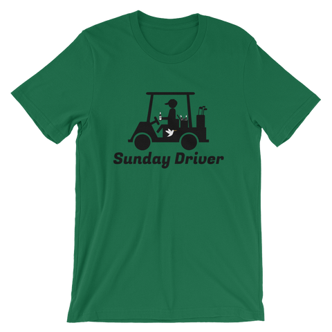 Image of Sunday Driver T-Shirt Kelly Green