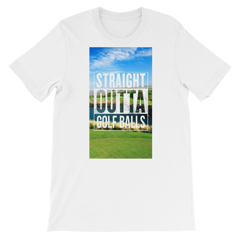 Straight Outta Golf Balls T-Shirt