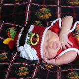 Blackhawks Hockey Logo Baby Girl Crochet Newborn Photography