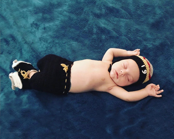 Golden Knights Hockey Baby Boy Crochet