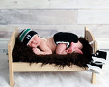 Baby Boy Crochet Dallas Stars Hockey Photography Prop