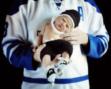 Baby Boy Crochet Hockey Helmet Pants Skates Photography Prop
