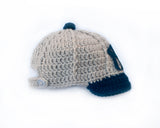 Yankees Baby Boy Baseball Cap Crocheted Hat