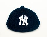 Yankees Logo Logo Baseball Hat Crochet