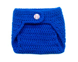LA Dodgers Baseball Diaper Cover