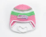Seahawks Football Baby Logo Hats Girl