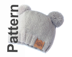 Knitting Baby Archie Double Pom Hat Pattern Prince Harry Meghan Markle