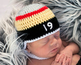 Baby Boy Vegas Golden Knights Hockey Helmet Hat Photography