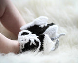 Crochet Baby Hockey SKates