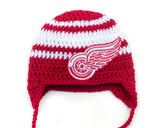 Red Wings Hockey Logo Baby Hat