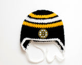 Bruins Hockey Logo Hat Crochet