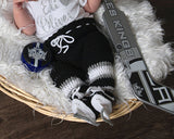 LA Kings Hockey Crochet Baby Pants Socks & Skates