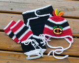 Blackhawks Hockey Blackhawks Logo Baby Crochet